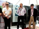 Festival de Cannes 2012 :  24 mai - Cinemeccanica sur le stand de la CST !