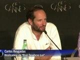 "Cannes: conférence de presse de ""Post Tenebras Lux"""