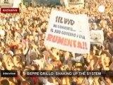 """Grillo in esclusiva su euronews: """"La Merkel si riprenda..."""