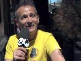 """Didier Wampas en interview pour le film """"Le Grand soir"""" au Festival de Cannes 2012"""