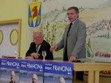 Bernard Accoyer, Président de l'Assemblée Nationale soutient Marc Francina