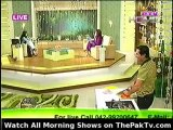 Morning With Juggan By PTV Home - 25th May 2012 - Part 2/4