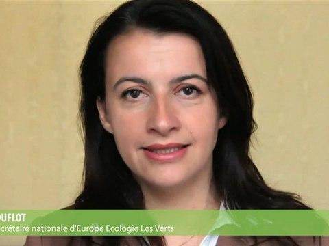 Message de Cécile Duflot à l'occasion des élections législatives de juin 2012
