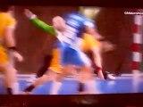 Créteil - Chambéry / LNH 25ème Journée / Handball / Tir costal Fabrice Guilbert