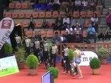 Championnat de France Nîmes 2012  Présentation Equipe de  France de GR