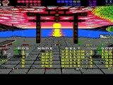 international karate + sur amiga session retro fun gameplay et détente partie trois sur trois , en h d sept cent vingt pixels