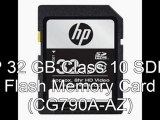 Flash memory 2012 | HP 32 GB Class 10 SDHC Flash Memory Card (CG790A-AZ)