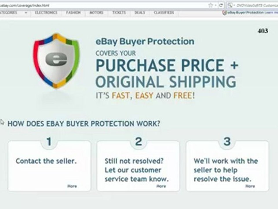 Ebayisajoke Ebay Buyer Protection Means That Auctions Are No Longer Binding Contracts Video Dailymotion
