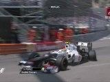 Formula 1 Monaco 2012 Qualifying Big crash Perez