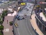 GP2 Monaco 2012 Race 2 Massive crash start