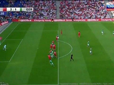 Suisse – Allemagne 2:1 but de Hummels
