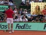 Samedi 26 mai 2012 - Federer vs Djokovic - Cécile & Marion