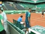 Coup d'envoi de Roland-Garros : 9 Français sur les courts