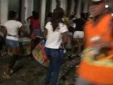 BRESIL: Dernière soirée du coté de Salavdor de Bahia, concert de percution dans les rues.
