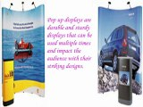 pop up displays-A right choice for trade show events