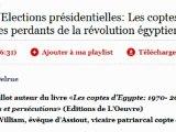 Egypte/Elections présidentielles: Les coptes d'Egypte seront-ils les perdants de la révolution égyptienne?