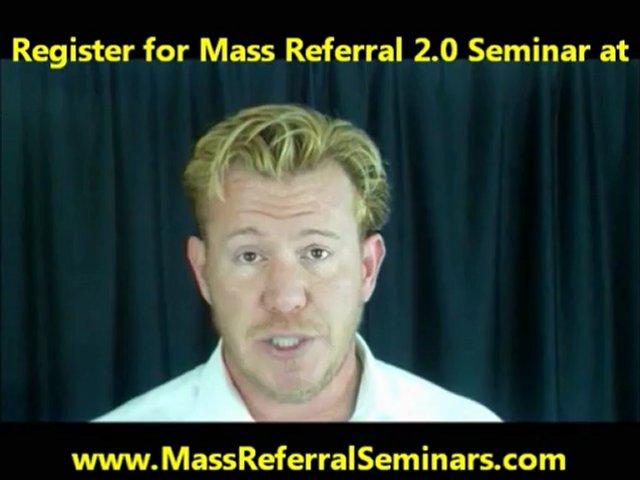 Cosmetic Dentistry Internet Marketing – Mass Referral 2.0 Dental Marketing Seminars