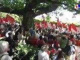 montée au mur des fédérés - 26 mai 2012