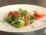Cuisine : Recette de salade : tomates au citron confit