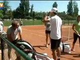 Roland Garros : le retour de Julien Benneteau un mois après sa chute à Monte-Carlo