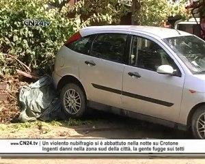 """Maltempo Crotone: devastato il """"Lido degli Scogli"""""""