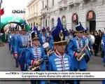 Celebrata a Reggio la giornata in onore delle forze armate