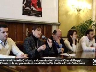 """Teatro: nel fine settimana a Reggio """"Lui che ama mio marito..."""""""