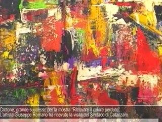 """Crotone, grande successo per la mostra """"Ritrovare il colore perduto"""""""