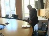 Paris : une journée avec Frédéric Cuvillier, ministre délégué aux Transports et à l'Economie Maritime