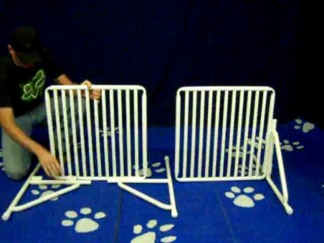 Freestanding Pet Gate assembly video – by Roverpet