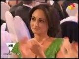 Griselda Siciliani en los Martin Fierro 2012