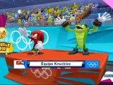 Mario et Sonic aux Jeux Olympiques de Londres 2012 - Canoé : Course en ligne 1000m (VS)