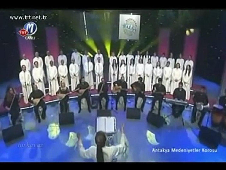 4 Sarı gelin Türkçe Azerice Ermenice Antakya medeniyetler korosu