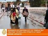 Al Jazeera English broadcasts live from inside Libya