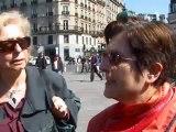 Les Découpés du XIXème : manifestation devant la mairie de Paris