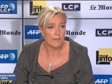 Marine Le Pen veut une loi contre le racisme anti-blanc