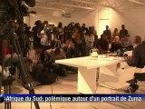 Portrait controversé de Zuma: la galerie décroche le tableau