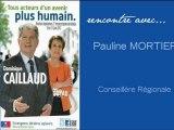 Dominique CAILLAUD 2012 : #Rencontre avec Pauline MORTIER