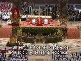 Benedict al XVI-lea: Duhul Sfânt ne călăuzeşte spre înălţimile lui Dumnezeu