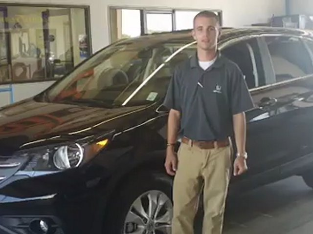 Barry Sanders Honda Sells 2012 Honda CR-V | Stillwater Honda Dealership