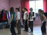 répétition du gala de danse de l'école Isabelle Depierre