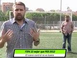 Cara a cara: FIFA 12 VS PES 2012 en HobbyNews.es