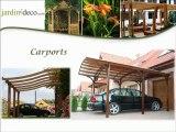 jardin-deco.com abris de jardin en bois kiosques pavillons tonnelle auvents treillis panneaux en bois