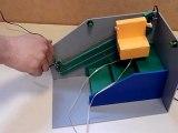 Technologie : Fonctionnement de la maquette d'un monte escalier