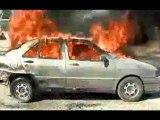 Cómo apagar un fuego en tu coche