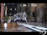 Terremoto, danni anche in Veneto: colpita Basilica Sant'Antonio. Crepa nell'affresco del soffitto di una delle cupole a Padova