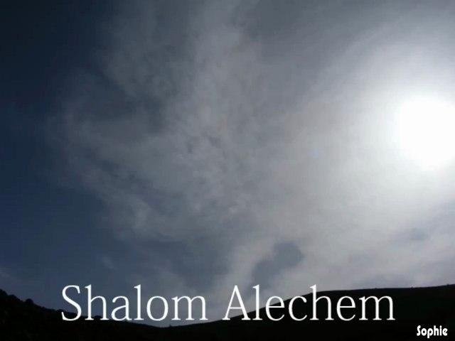 Shalom Alechem   שלום עליכם -  LeSCINTILLA