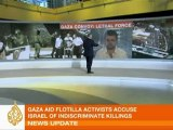 Interview with Al Jazeera's Jamal ElShayyal: One of the passengers on the Mavi Marmara