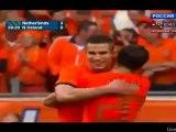 Holland vs Northern Ireland 3:0 van Persie