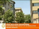 Sanctions take toll on Iranian businesses